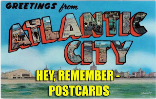 hey remember when sending postcards was popular