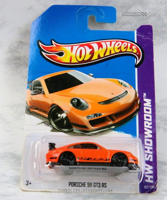 TURBOLIDO Cars: HOT WHEELS PORSCHE 911 GT3 RS / HW X1785