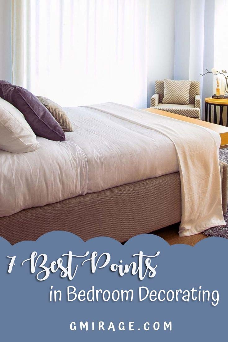 7 Best Points in Bedroom Decorating