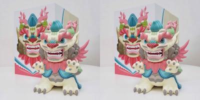 Lotus Dragon Vinyl Figure by Scott Tolleson x 3DRetro – A Designer Con 2020 Debut