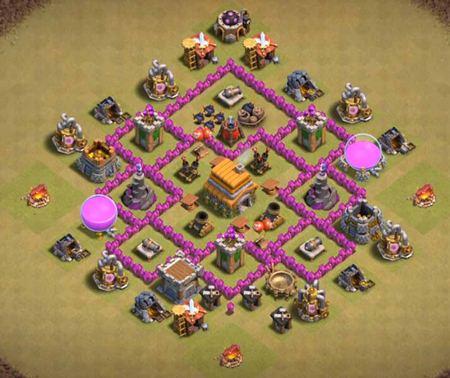 coc th6 base