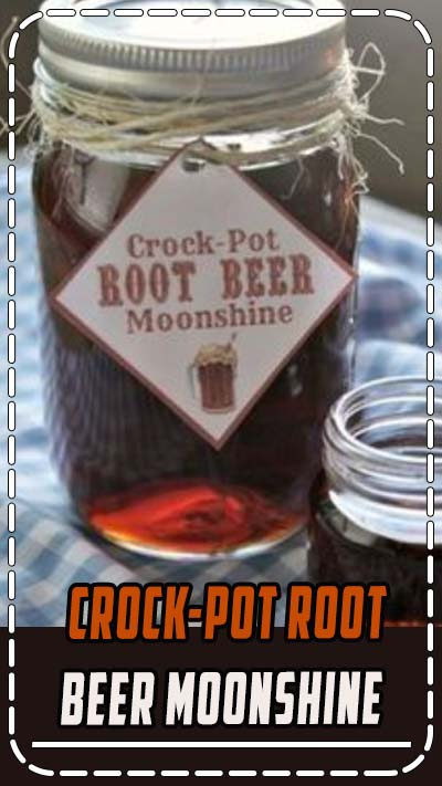 """This root beer flavored """"moonshine"""" recipe tastes amazing. Sip away on it in small doses though as it is strong"""