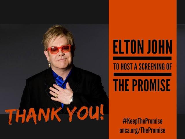 Elton John visitaría Armenia