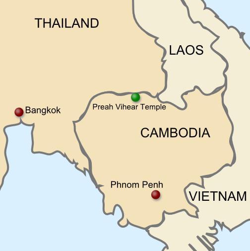 Cambodia pilihan destinasiku.