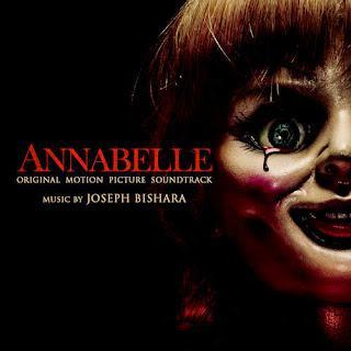 Annabelle: Original Motion Picture Soundtrack capa da trilha sonora do spin-off invocação do mal filme annabelle
