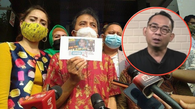 Kuasa Hukum Roy Suryo Sebut Eko Kuntadhi dan Mazdjo Pray Telah Hilangkan Barang Bukti