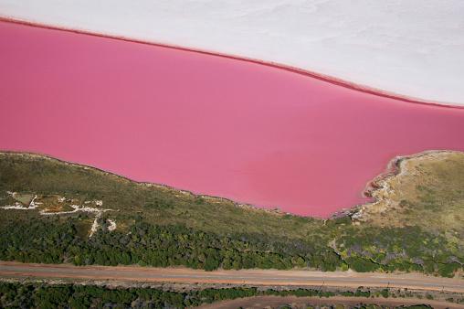 Australia's Lake Hillier