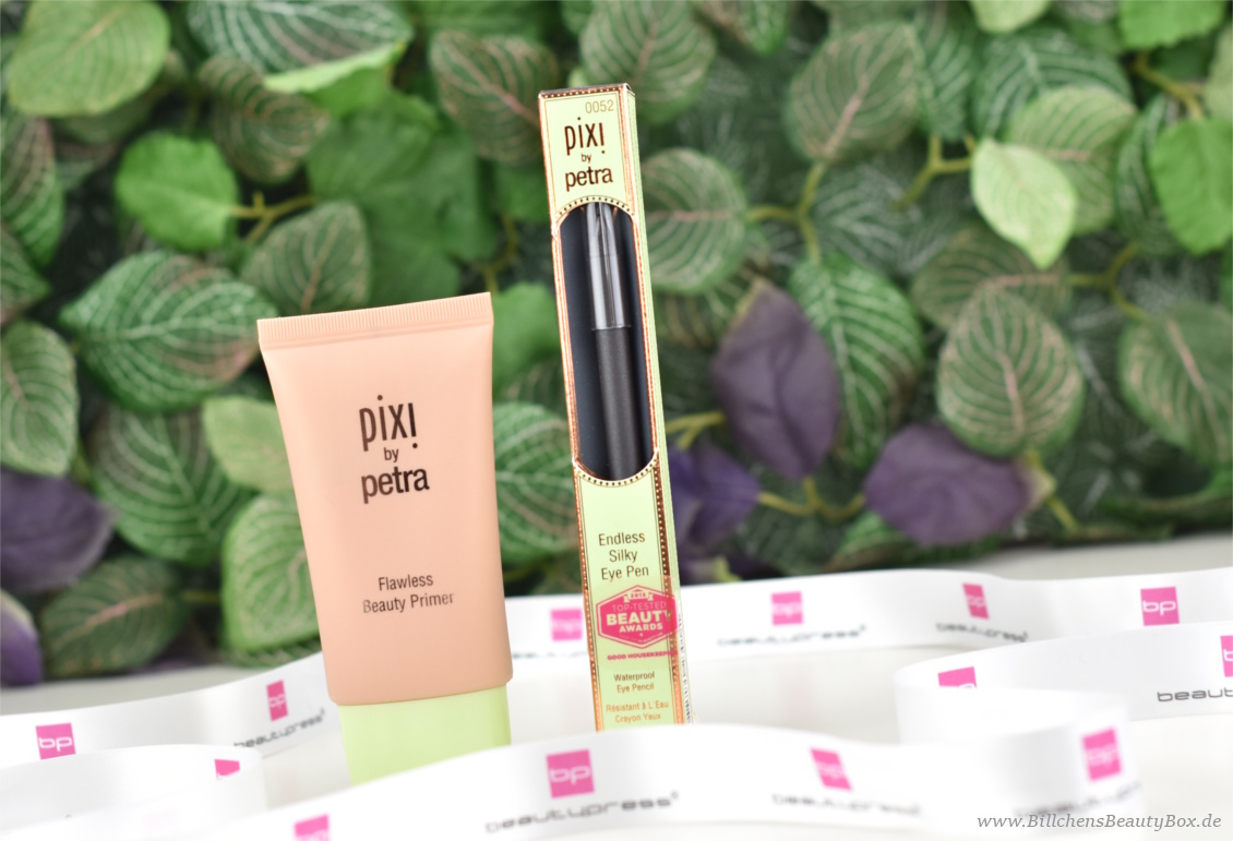 beautypress News Box August 2017 - Pixi Flawless Beauty Primer, Endless Silky Eye Pen