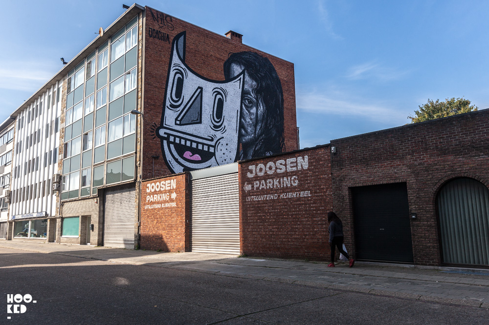 Joachim Mural. Street Art Antwerp. Photo ©Hookedblog / Mark Rigney