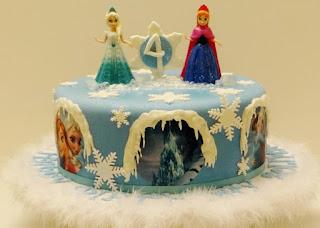 kue ulang tahun frozen anna