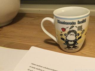 Kontorets helt - koppen for bedre selvtillit i skrivingen...
