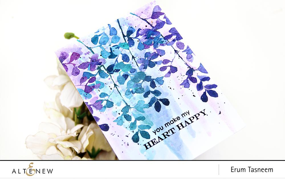 Altenew Summer Garden Paper Pack | Erum Tasneem | @pr0digy0
