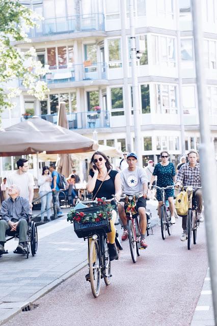 street style bikes Amsterdam fashion