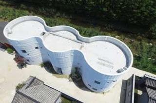 Bangunan Gelombang Cetak 3D WINSUN