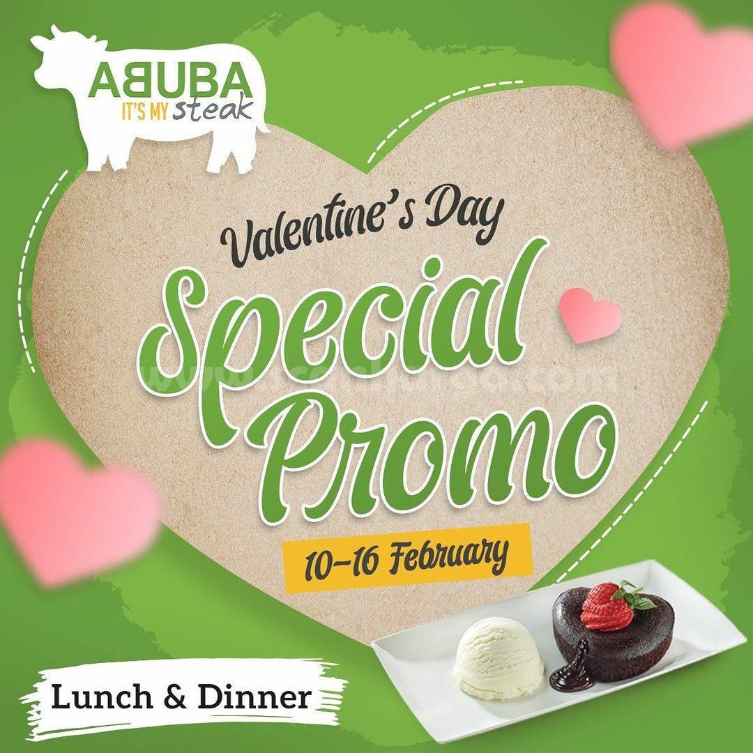 ABUBA STEAK Special Promo VELENTINES DAY!