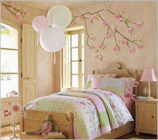 Habitaciones para ni as color pastel dormitorios colores - Imagenes de habitaciones de nina ...
