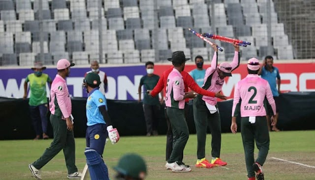 Shakib was banned for three matches and fined Tk 5 lakh for violating the code of conduct
