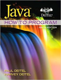 Answers to Deitel's Java How to Program (9th Edition
