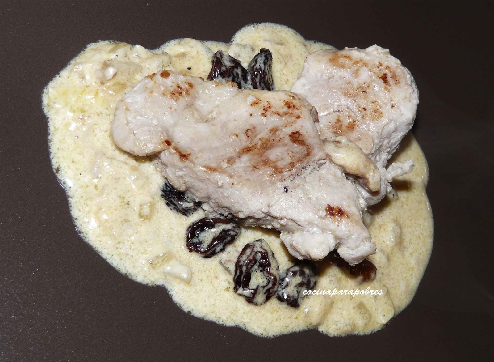 Cocina para pobres solomillo con nata y frutos secos - Como hacer nata para cocinar ...