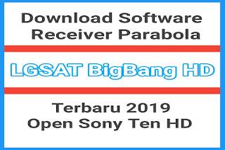 Download SW Receiver Parabola LGSat BigBang HD 2019