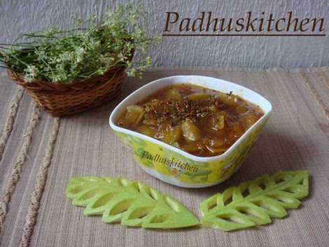 Mango pachadi tamil new year special padhuskitchen sweet mango pachadi recipe tamil new year special forumfinder Images