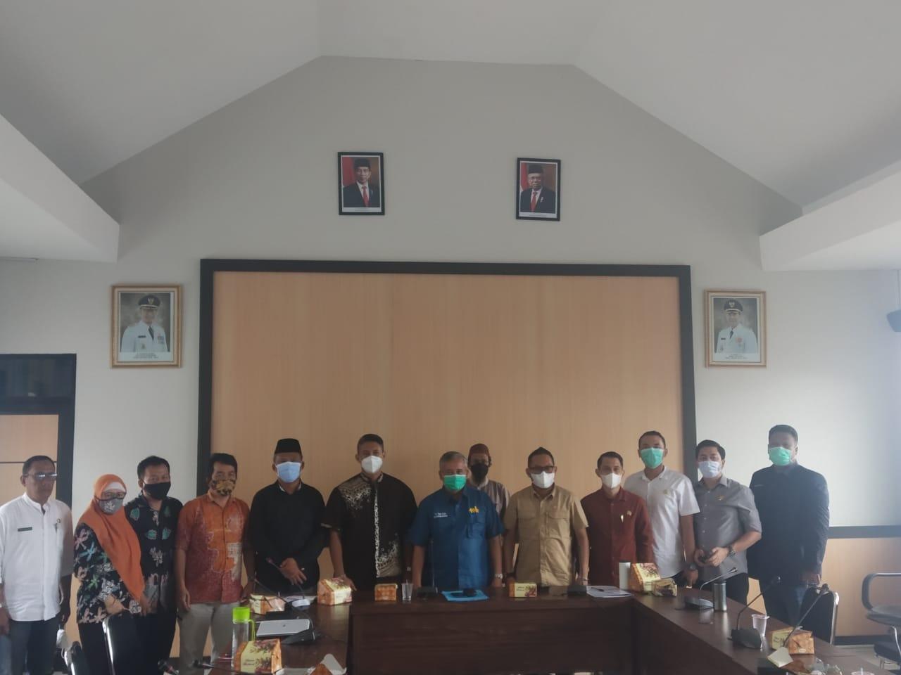 Dinas PUPR Sambut Baik Kunjungan Kerja KOMISI II DPRD Kota Sukabumi.