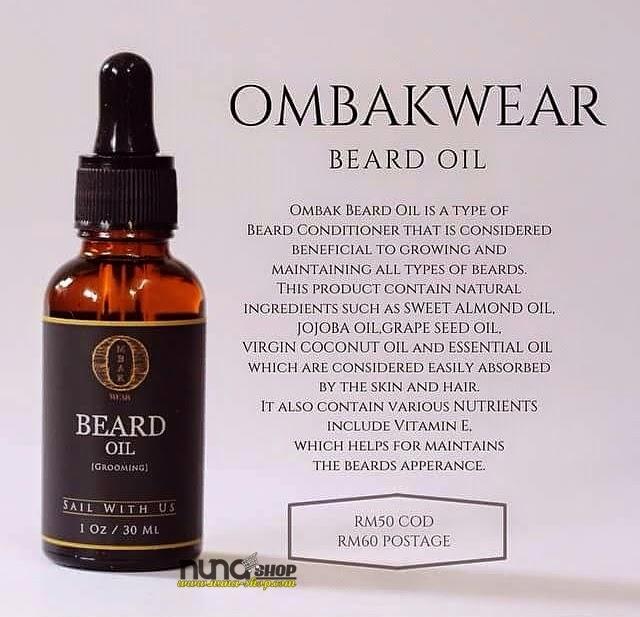 Ombak Beard oil (Minyak Jambang) By Ombak Wear