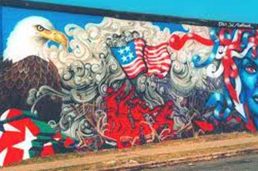 american flag graffiti - photo #32