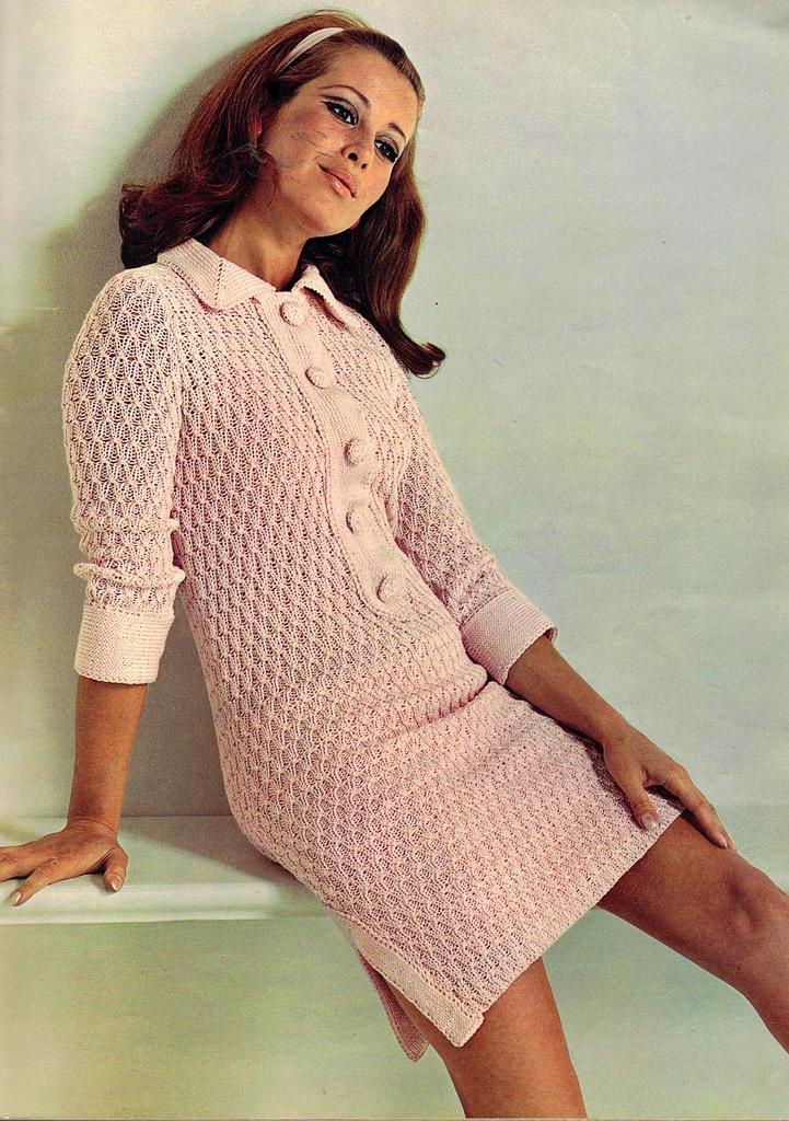 Womens Orange Sweater