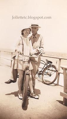 Lillie Killeen June 1944 Virginia Beach https://jollettetc.blogspot.com