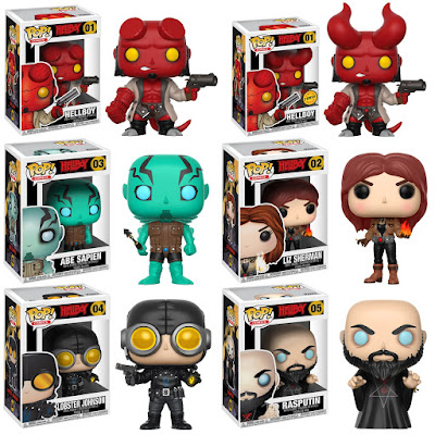 Hellboy Pop! Comics Series 1 Vinyl Figures by Funko