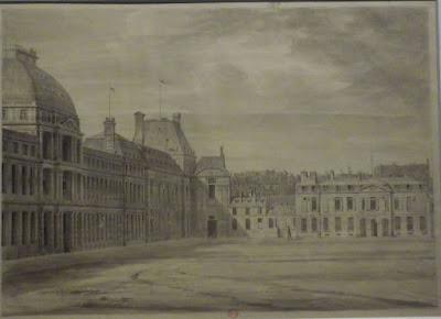 Les Tuileries au XVIIIe siècle