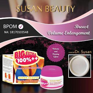 Cream Payudara SUSAN BEAUTY Terbaru Sudah BPOM