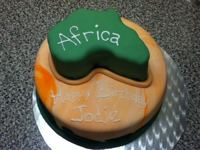 Margaret Blog: African Cake