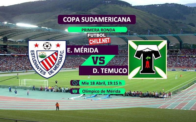 Estudiantes de Mérida vs Deportes Temuco: Previa, horario, dónde ver en vivo por TV y online por la Copa Sudamericana 2018