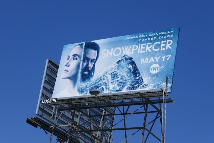 Snowpiercer TNT remake billboard
