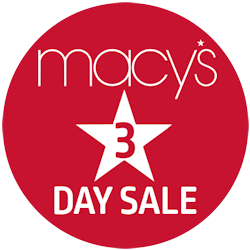 3-Day Sale at Macy's: Get an Extra 40% to 80% off Over 60,000 Deals of the Day