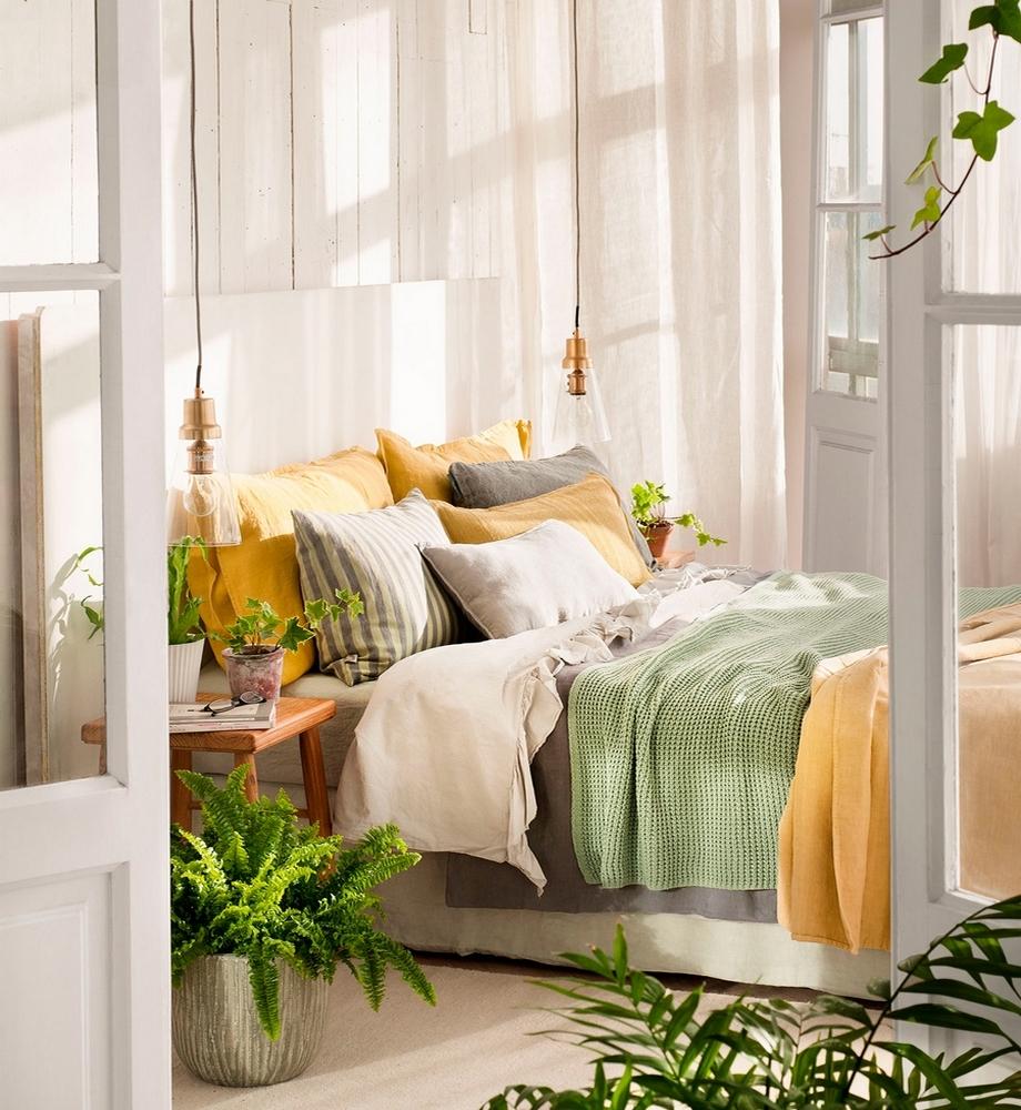Dormitorio Verde ~ Lovely Deco Dans de beaux draps