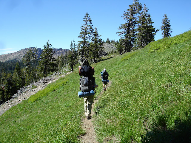 Pacific Crest Trail, Marble Mountain Wilderness, Northern California hikes and backpacks outdoors
