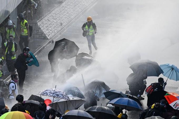 A tiltás ellenére újra tüntettek Hongkongban vasárnap