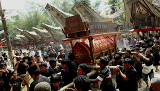 Ritual Budaya Rambu Solo'