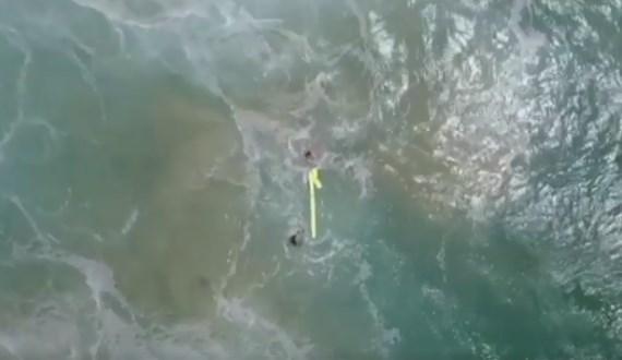 Penyelamatan Pertama Di Dunia Yang Dramatis Dengan Menggunakan Drone