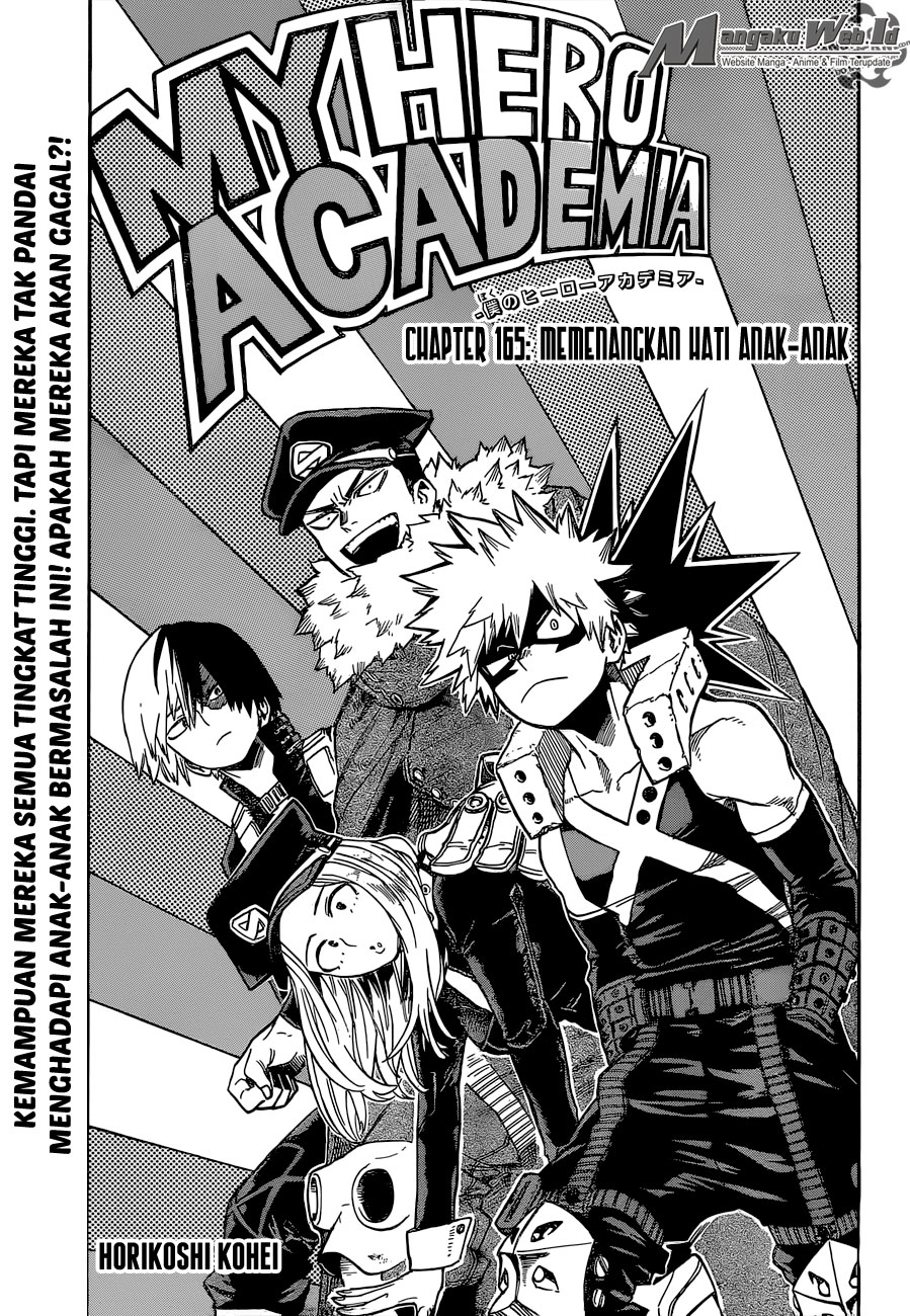 Boku no Hero Academia Chapter 165-1