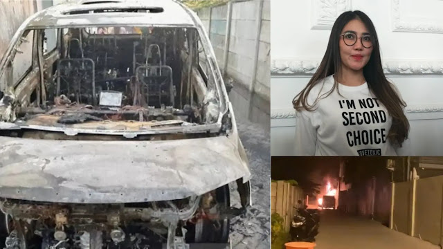Mobil Alphard Via Vallen Dibakar Tetangganya, Berikut Ini faktanya