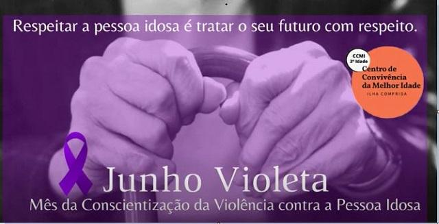 Serviço de Convivência e Fortalecimento de Vínculos, CRAS  e Promotoria de Justiça integrados na  Campanha Contra a Violência contra os idosos  na Ilha