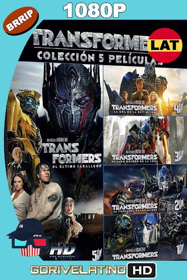 Transformers (2007-2017) Saga Completa BRRip 1080p Latino-Ingles MKV