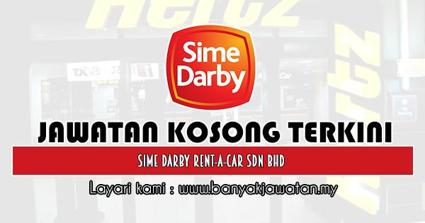 Jawatan Kosong 2020 di Sime Darby Rent-A-Car Sdn Bhd