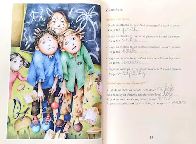 Kouzelná třída – pracovní sešit (Zuzana Pospíšilová, ilustrace Drahomír Trsťan), nakladatelství Grada – Bambook