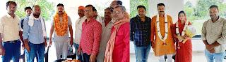 दूसरी बार निर्वाचित ब्लाक प्रमुख मांडवी सिंह को बधाई देने वालों का लगा तांता  | #NayaSaberaNetwork