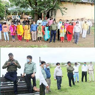 Jansampark Madhya Pradesh Directorate of Health Services, Madhya Pradesh Department of Forest,Kharmor abhyaran (खरमोर अभ्यारण), Madhya Pradesh